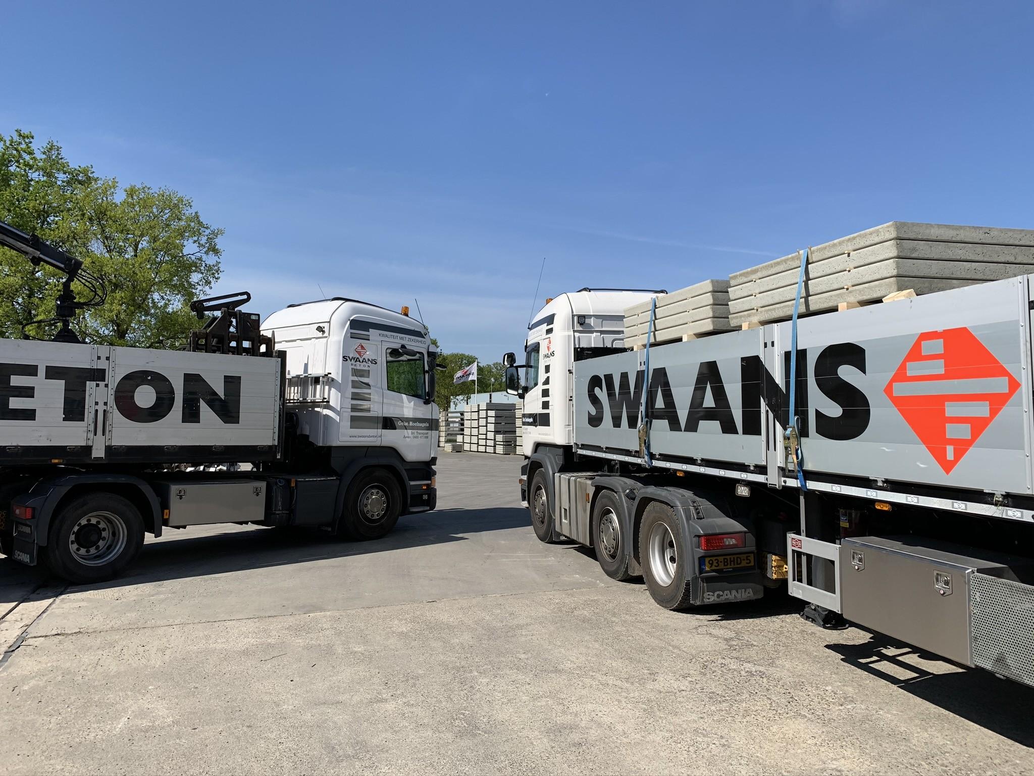 <p><b>Swaans Beton</b>/ Overzicht productielocatie Weert</p>